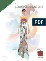 Pantone Fashion Colors Spring 2015