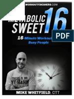MetabolicSweet16