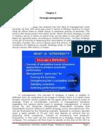 Strategic Management I