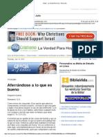 407105Gmail - La Verdad Para Hoy_Aferrándose a Lo Que Es Bueno_Romanos 12y9