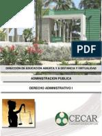Derecho Administrativo I-Derecho Administrativo i