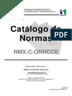 CatÁlogo de Normas 2013 ONNCCE