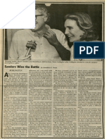 Sanders Wins the Battle | Vanguard Press | May 29, 1983
