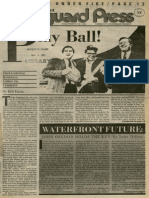Play Ball! Professional Baseball Comes to Vermont | Vanguard Press | Nov. 6, 1983