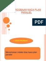 Ppt Percobayan Plan Paralel