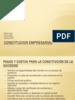 Constitucion Empresarial