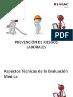 Analisis y Aplicacion de Protocolos de Examenes Medicos Ocupacionales y Guias de Diagnostico