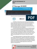 Sql Server 2016 Database Performance On The Dell Emc Poweredge Fc630