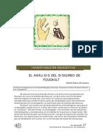 Antezana - El Análisis Del Discurso de Foucault (2009)