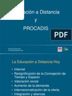 Educación a Distancia y PROCADIS INTA