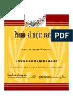 Diploma Andrea Mejia