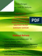 Bahasa Arab-Perkembangan Bahasa Arab