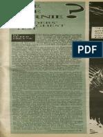 Bye Bye Bernie? Sanders' Toughest Test | Vanguard Press | Mar. 1, 1987