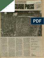 The Return of the Boogey-Man   Vanguard Press   Oct. 22, 1987