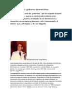 Los Diez Peores Gobierno Dominicanos