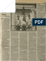 Sparks Fly at City Hall | Vanguard Press | June 16, 1988