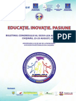 Buletinul Congresului al XXXVI-lea al învățătorilor, Chișinău, 2014