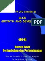 K - 1 Konsep Dasar Pertumbuhan Dan Perkembangan (Imu Kesehatan Anak)