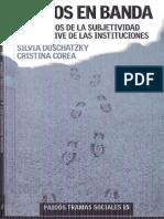Duschatzky, Silvia - Chicos en Banda