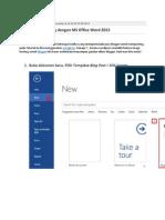 Tutorial Posting Blog dengan MS Office Word 2013.docx