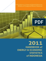 Handbook of Energy & Economic Statistics Ind 2011