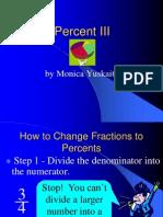 Percent III