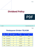 9 Dividend Policy