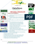 8th September 2014 Daily Global Rice E-Newsletter by Riceplus Magazine