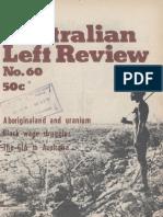 Australian Left Review No.60 July 1977