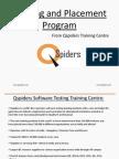 Training & Placement Program