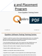 Training & Placement Program