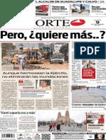 Periódico Norte edición del día 9 de septiembre de 2014