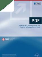 MFT Platform Server in a Clustered Windows Environment