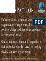 Chap 5 Capacitor and Dielectric Slide