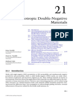 Isotropic double negative Metamaterial