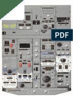 737 NG Overhead Panel