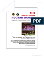 50 Tutorial Ruqyah Mandiri