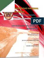 Localización Del Resalto Hidráulico - Informe de Investigación