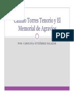 Unidad 3 Camilo Torres Tenorio y El Memorial de Agravios - Carolina Gutiérrez