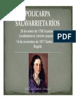 Unidad 3 Policarpa Salavarrieta - Sofía Tabares