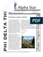 Alpha Star - Fall 2009