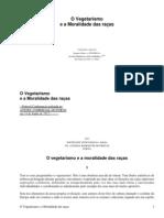O Vegetarismo e a Moralidade das raças by Lima, Jaime de Magalhães, 1859-1936