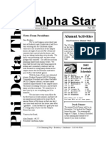 Alpha Star - Fall 2002