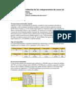 Evolución de las compraventas de casas en Dénia. Agosto 2014 ¿Hacia la estabilización del sector?