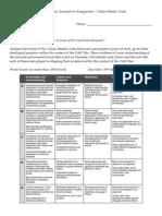 stage 1 history essay task sheet