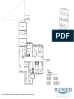 bellewaters  20140826 floorplan - for agents