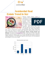 Current Residential Real Estate Trend in NCR
