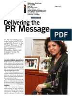 Shameen received global acknowledgement, appointment into the governing Board of the Global Alliance for PR and Communication Management #PR