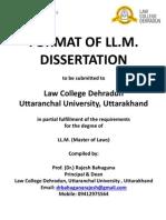 Dissertation Llm