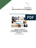 Medios y gobiernos latinoamericanos en el S. XXI